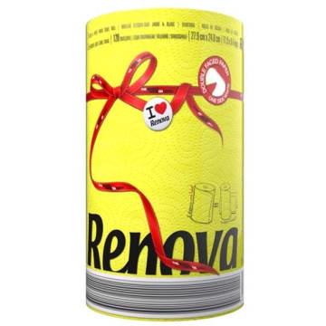 RENOVA Red Label Ręcznik papierowy Yellow 1szt