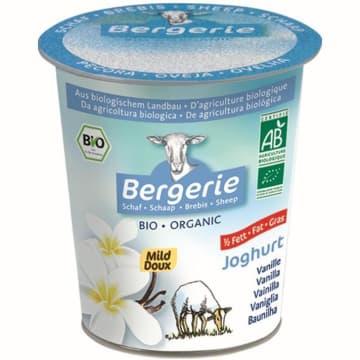 BERGERIE Jogurt  owczy o smaku waniliowym BIO 125g