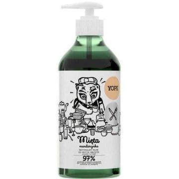 YOPE Płyn do mycia naczyń Mięta i Mandarynka 750ml