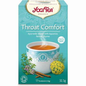 YOGI TEA Herbatka na gardło BIO 33g