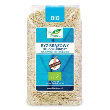 Ryż brązowy długoziarnisty - Bio Planet