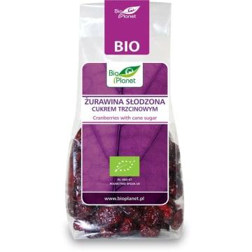 Żurawina z cukrem trzcinowym, 100g - Bio Planet