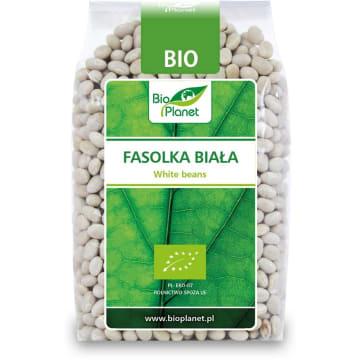 Bio Planet - Fasolka biała BIO 400g to dodatekdo zup i różnych dań. Stanowi bogate źródło witamin.