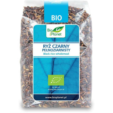Ryż czarny pełnoziarnisty - Bio Planet