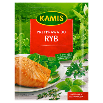 Kamis - Przyprawa do ryb 30 g. Dla smakoszy rybnych dań.