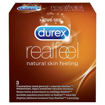 Prezewatywy Durek Real Feel. Dla naturalnych, zmysłowych doznań.