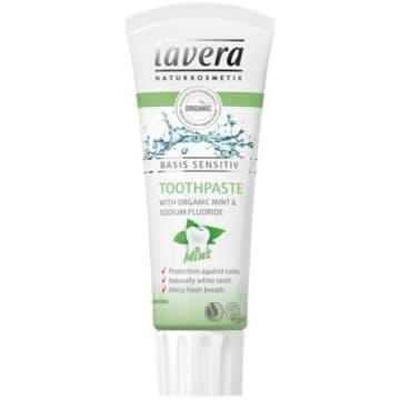 LAVERA Miętowa pasta do zębów naturalna biel i ochrona przed próchnicą 75ml