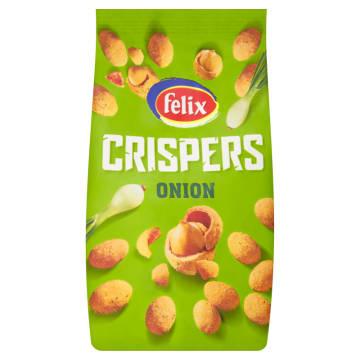 Felix Crispers - Orzeszki ziemne w chrupkiej skorupce. Doskonała przekąska w czasie przerwy.