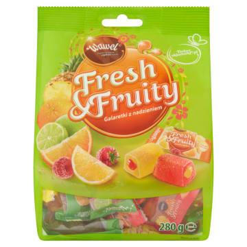 Galaretki z nadzieniem Fresh&Fruity Wawel to bogactwo kombinacji smakowych.