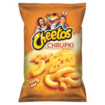 CHEETOS Chrupki kukurydziane o smaku sera 165g