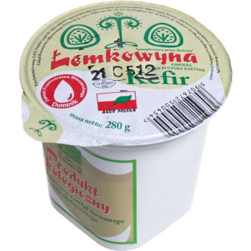 Kefir 1,5% - Osm Łemkowyna. Żywe kultury bakterii.