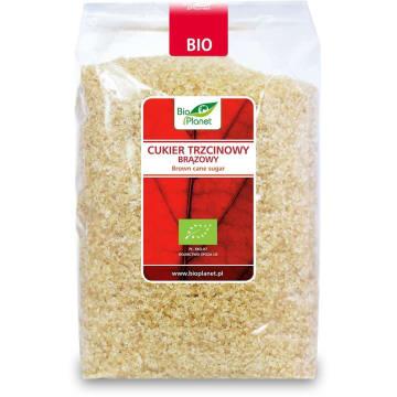 Cukier trzcinowy brązowy - Bio Planet. Doskonała alternatywa dla tradycyjnego cukru.