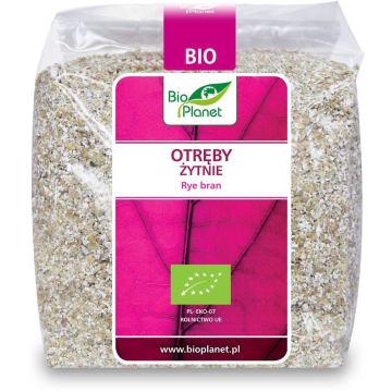Otręby żytnie – Bio Planet to ekologiczny produkt, który powstał przy przemiale żyta.