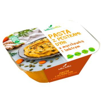 WELL WELL Pasta z pestkami dyni z marchewką i imbirem 125g