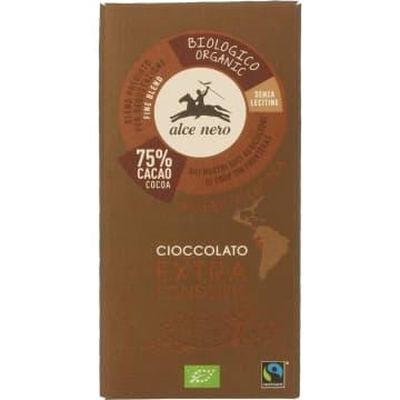 Czekolada gorzka Bio - Alce Nero. Zdrowa słodycz dla miłośników czekolady.