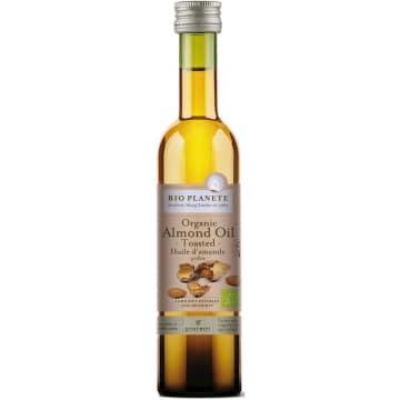Olej migdałowy Bio - Bio Planete. Idealny do aromatyzowania ciast, produkt ekologiczny.