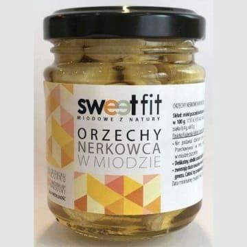 SWEETFIT Orzechy nerkowca w miodzie 130g