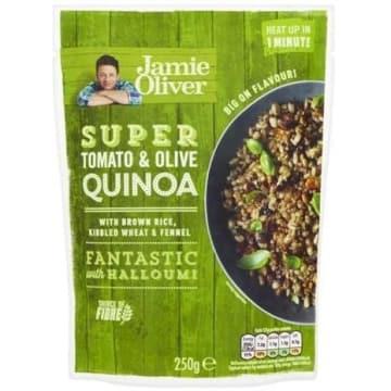 JAMIE OLIVER Danie Quinoa z Pomidorami i Oliwkami 250g