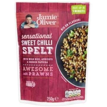 JAMIE OLIVER Danie słodkie chili z orkiszem 250g