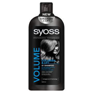 SYOSS VOLUME Szampon do włosów Collagen & Lift 500ml