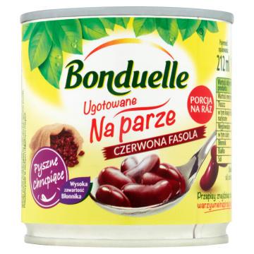 Gotowana na parze fasola czerwona – Bonduelle jest bogata w witaminy.