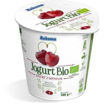 Jogurt BIO Wiśnia - Bskoma