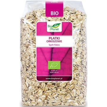Płatki orkiszowe – Bio Planet bogate w wartości odżywcze to doskonałą propozycja na śniadanie.