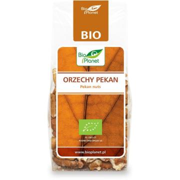 Ekologiczne orzechy pecan Bio - Bio Planet. Szlachetność smaku podkreśla ich maślany posmak.