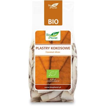 Plastry kokosowe - Bio Planet z ekologicznych upraw sprawdzą się jako słodka przekąska.