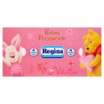 Chusteczki higieniczne - Regina. Chusteczki idelane dla dzieci.
