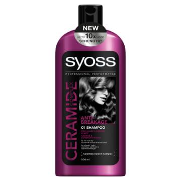 SYOSS CERAMIDE COMPLEX Szampon do włosów Anti-Breakage 500ml