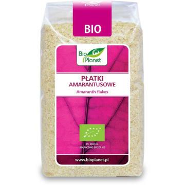 Płatki amarantusowe – Bio Planet. Dzięki nim śniadanie będzie nie tylko smaczne, ale i pożywne.