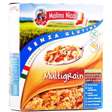 Bezglutenowe płatki ryżowo-kukurydziane - Molino Nicoli