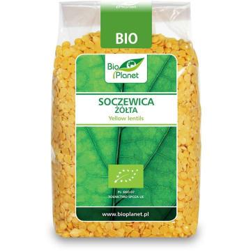 Soczewica żółta Bio - Bio Planet. Delikatny i naturalny smak.