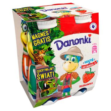 Jogurt do picia- Danone. Jogurt bogaty w wapń.