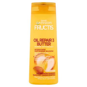 GARNIER FRUCTIS Oil Repair 3 Butter Szampon wzmacniający do włosów zniszczonych 400ml
