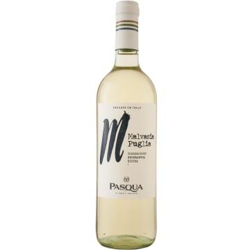 Wino wytrawne Malvasia - Pasqua. Intensywny smak i aromat.