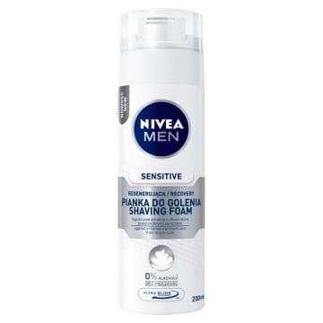 NIVEA SENSITIVE RECOVERY Łagodząca pianka do golenia 200ml