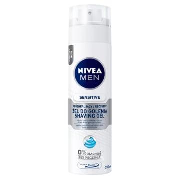 NIVEA SENSITIVE RECOVERY Łagodzący żel do golenia 200ml