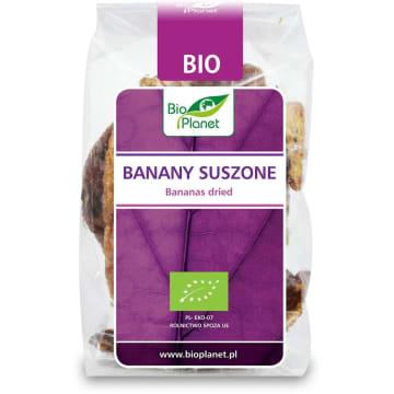 Banany suszone - Bio Planet. Smaczna i pożywna przekąska w ciągu dnia.