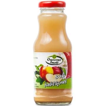 Sok jabłkowy - Owocowe Smaki. Orzeźwia i dodaje energii.