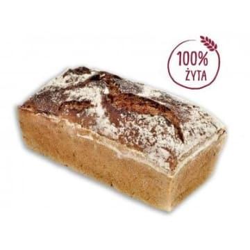 Chleb żytni 400g - Putka. To zdrowy chleb z przewagą mąki żytniej.