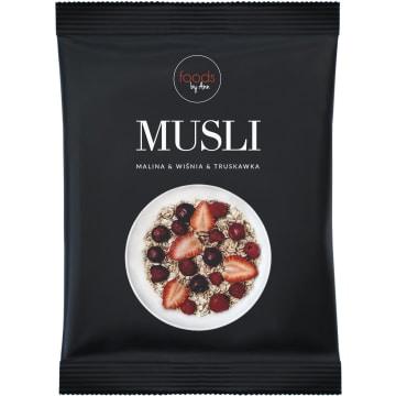 FOODS BY ANN Musli Malina & Wiśnia & Truskawka 50g