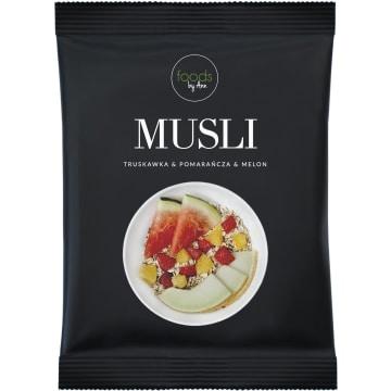 FOODS BY ANN Musli Truskawka & Pomarańcza & Melon 50g