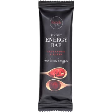 FOODS BY ANN Pocket Energy Bar Truskawka & Burak 35 g
