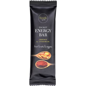 FOODS BY ANN Pocket Energy Bar Jabłko & Cynamon 35 g