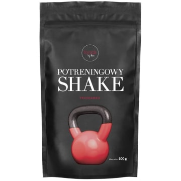 FOODS BY ANN Potreningowy Shake Truskawka 100g
