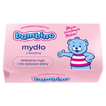 Mydło - Bambino. Antyalergiczne, łagodne mydełko stworzone z myślą o najmłodszych.