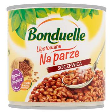 Gotowana na parze soczewica – Bonduelle jest bogata w witaminy.