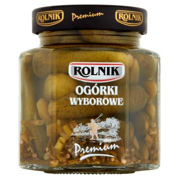 Rolnik - Ogórki wyborowe. Miniaturkowe ogórki z polskich upraw.